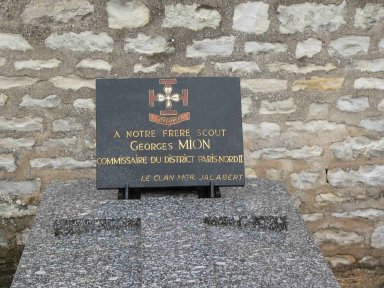 Plaque Georges Mion